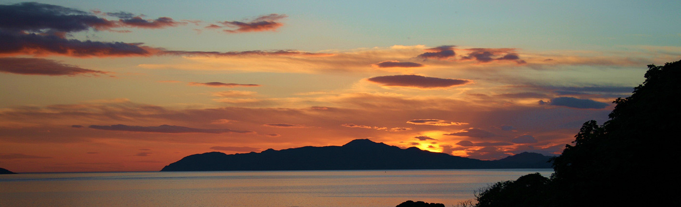 Sunset at Drimnin