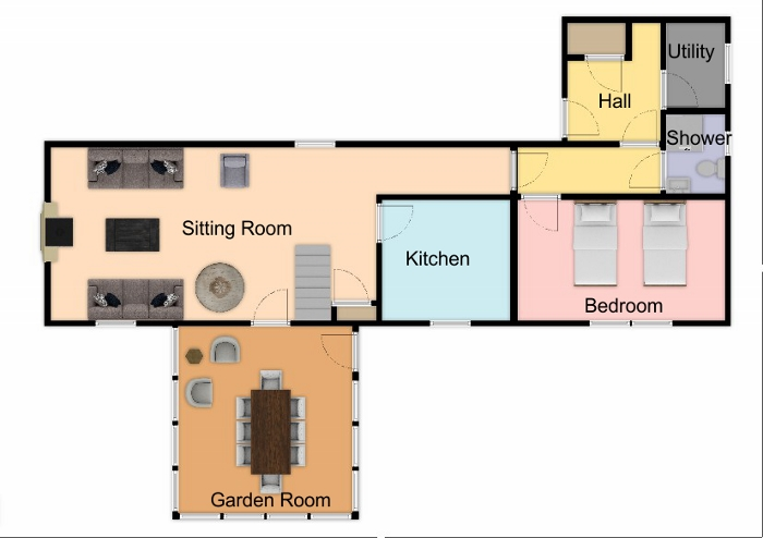 Achleanan Ground Floor Plan