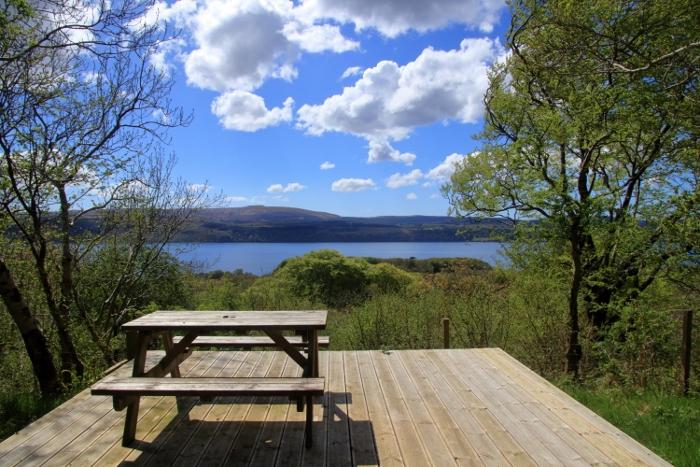 The Lodge deck - Drimnin Estate