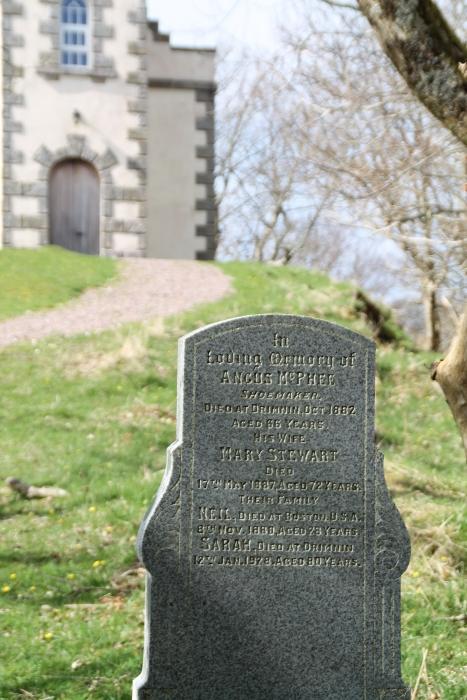 Gravestone of Angus McPhee Shoemaker