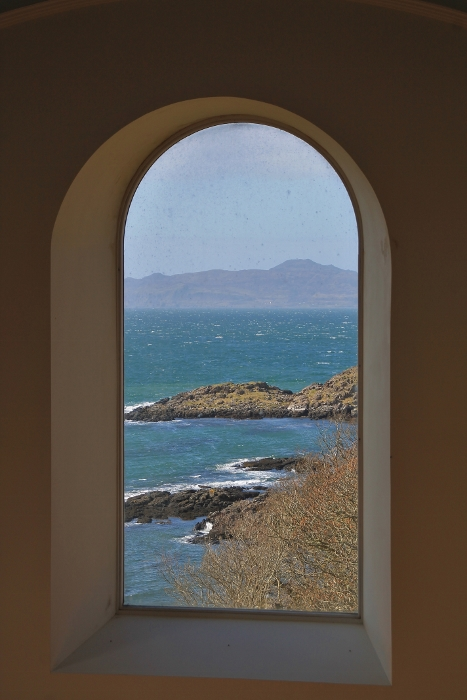 View Through Chapel Window