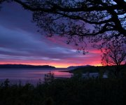 Sunset from Drimnin